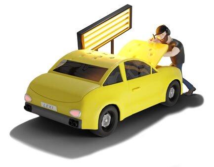 PDR-Tech-Repairing-Car